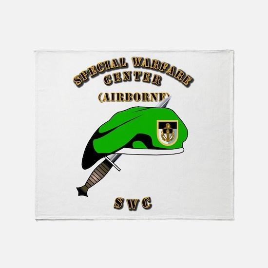 SOF - SWC Flash - Dagger - GB Throw Blanket