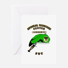 SOF - SWC Flash - Dagger - GB Greeting Card