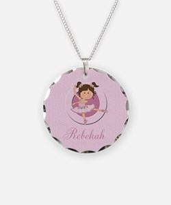 Cute Ballerina Ballet Gifts Necklace
