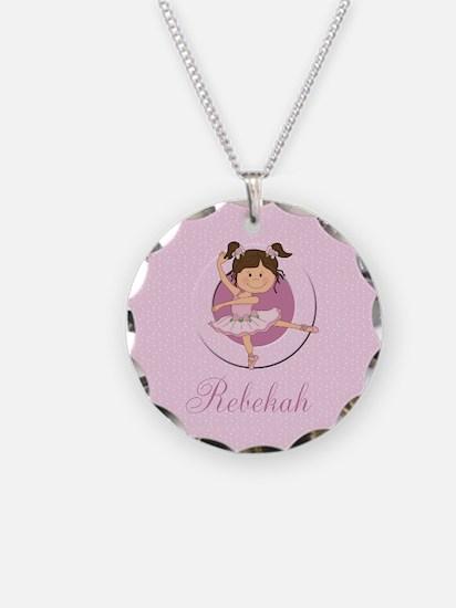 Cute Ballerina Ballet Gifts Necklace