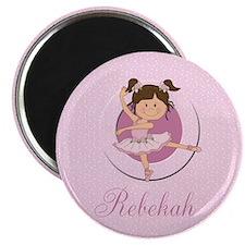Cute Ballerina Ballet Gifts Magnet