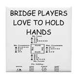 Bridge player Drink Coasters