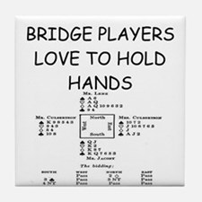 Duplicate bridge Tile Coaster