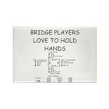 Duplicate bridge Rectangle Magnet