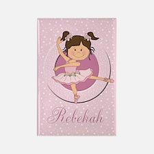 Cute Ballerina Ballet Gifts Rectangle Magnet
