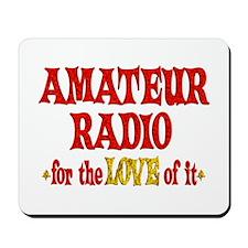 Amateur Radio Love Mousepad