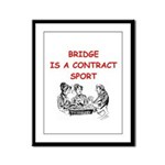 Duplicate bridge Framed Panel Print