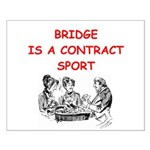Duplicate bridge Small Poster