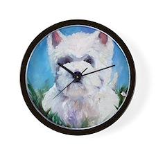 WESTIE DOG Wall Clock
