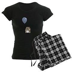 Bear With Blue Balloon Pajamas