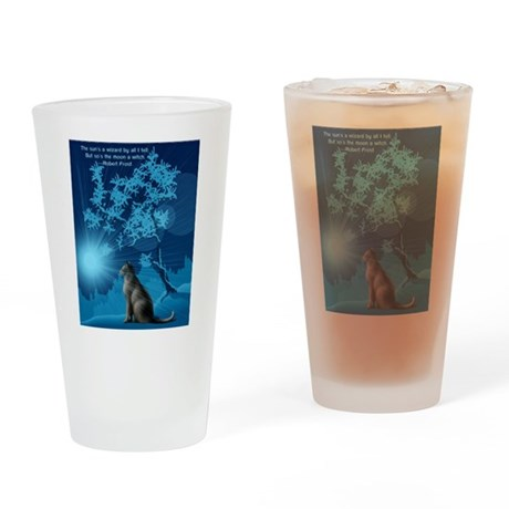 The Moonbather Drinking Glass