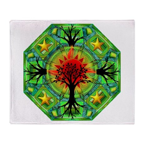 Mother Earth Throw Blanket