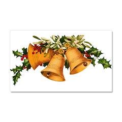 Christmas Bells Car Magnet 20 x 12