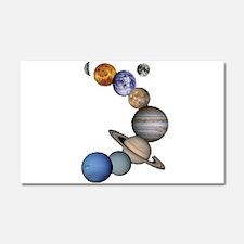 Planet Swirl Car Magnet 20 x 12