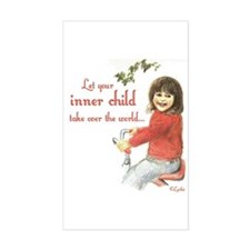 Your Inner Child... Rectangle Decal