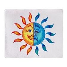 BiPolar Solar Throw Blanket