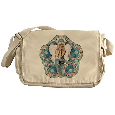 Sand Dollar Angel Messenger Bag