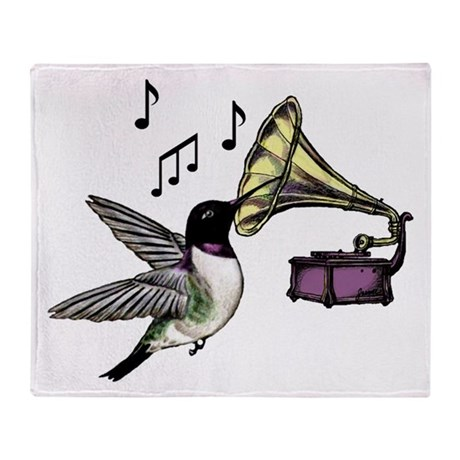 Auditory Nectar Throw Blanket