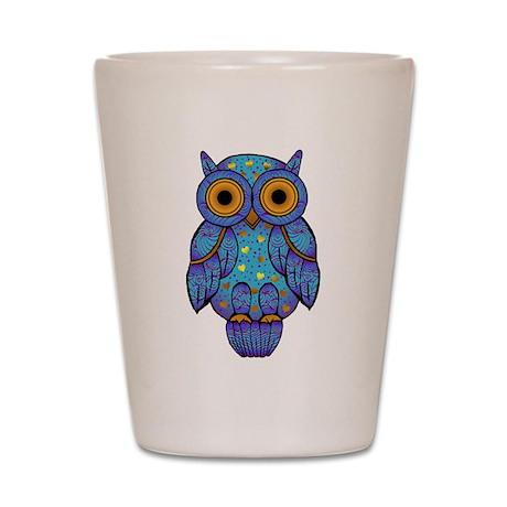 H00t Owl Shot Glass