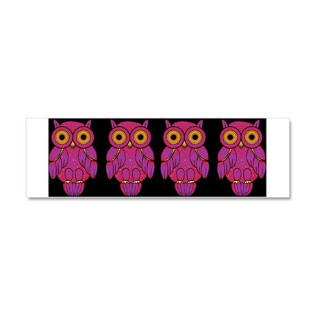 My$t Owl Car Magnet 10 x 3