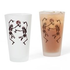 Danse Macabre Drinking Glass