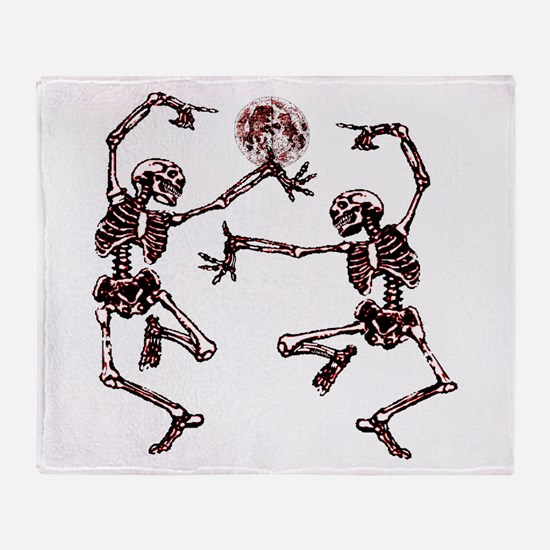 Danse Macabre Throw Blanket
