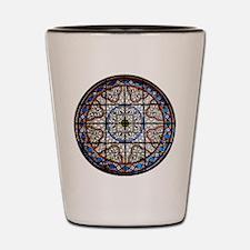Gothic Window Shot Glass