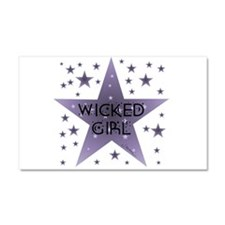 Wicked Girl Car Magnet 20 x 12