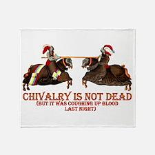 Chivalry Throw Blanket