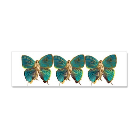 Venus Butterfly Car Magnet 10 x 3