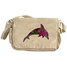 Dolphin Peace - Wednesday Messenger Bag