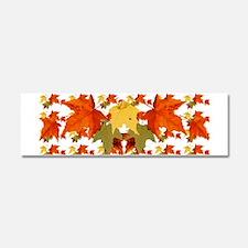 Autumn Colors Car Magnet 10 x 3