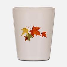 Autumn Colors Shot Glass