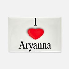 Aryanna Rectangle Magnet