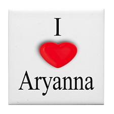 Aryanna Tile Coaster