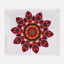 Apache Star Throw Blanket