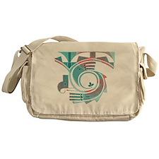 Turquoise Dawn Messenger Bag
