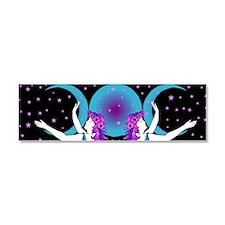 Luna Car Magnet 10 x 3