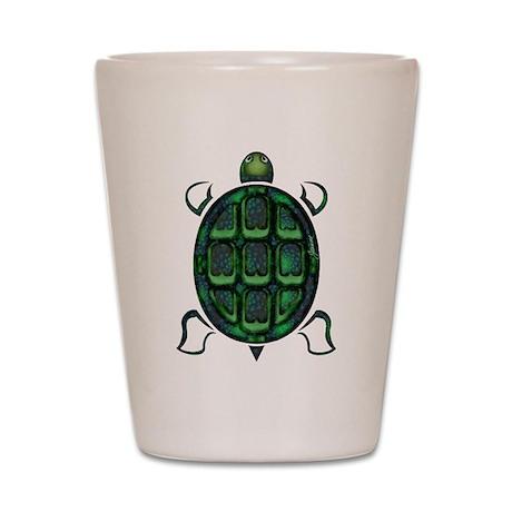 Tortuga Shot Glass