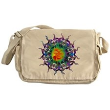 Chakra Sun Messenger Bag