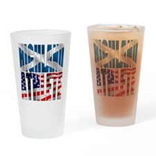 Highland Athlete Drinking Glass