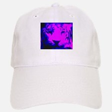 Tiger Face Baseball Baseball Cap