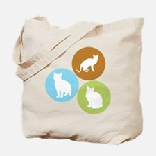 3 House Cats Tote Bag