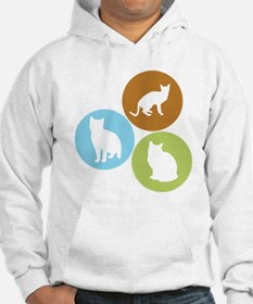 3 House Cats Hoodie