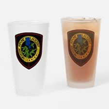 1st Squadron Drinking Glass