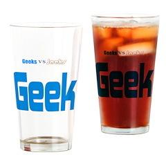 Geek Drinking Glass