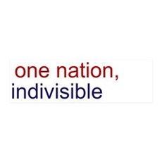 One Nation Indivisible 42x14 Wall Peel
