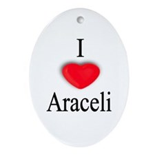Araceli Oval Ornament