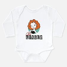 Club Ginger Long Sleeve Infant Bodysuit