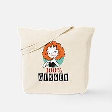 100% Ginger Tote Bag